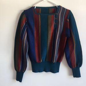 Lovely spring sweater.
